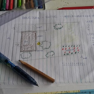 Egen skitse til haveplan